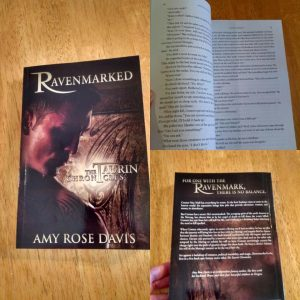 Proof of life--Ravenmarked in actual print form!
