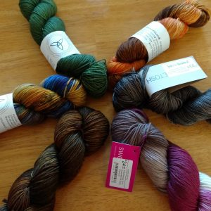I had a lot of yarn, so naturally, I went yarn shopping yesterday.